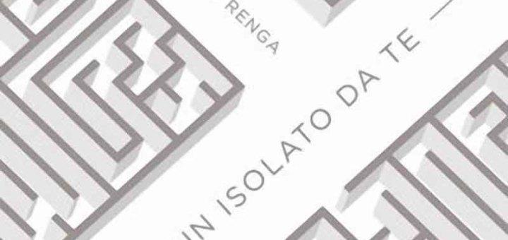 """Copertina del singolo """"A un isolato da te"""" di Francesco Renga"""